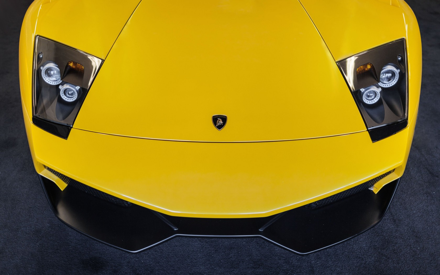 Lamborghini Murcielago LP670 Front Wallpaper for Desktop 1680x1050