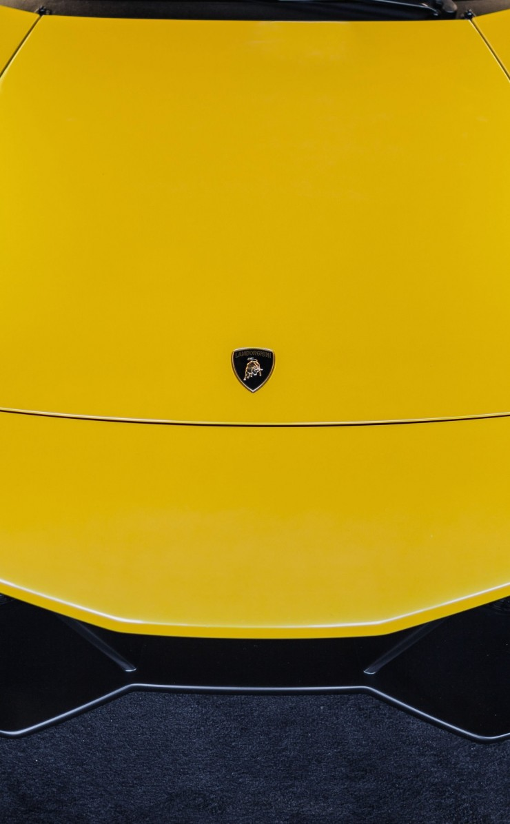 Lamborghini Murcielago LP670 Front Wallpaper for Apple iPhone 4 / 4s