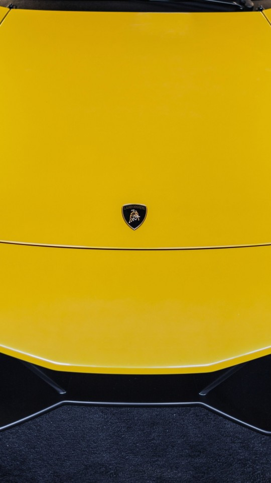 Lamborghini Murcielago LP670 Front Wallpaper for LG G2 mini