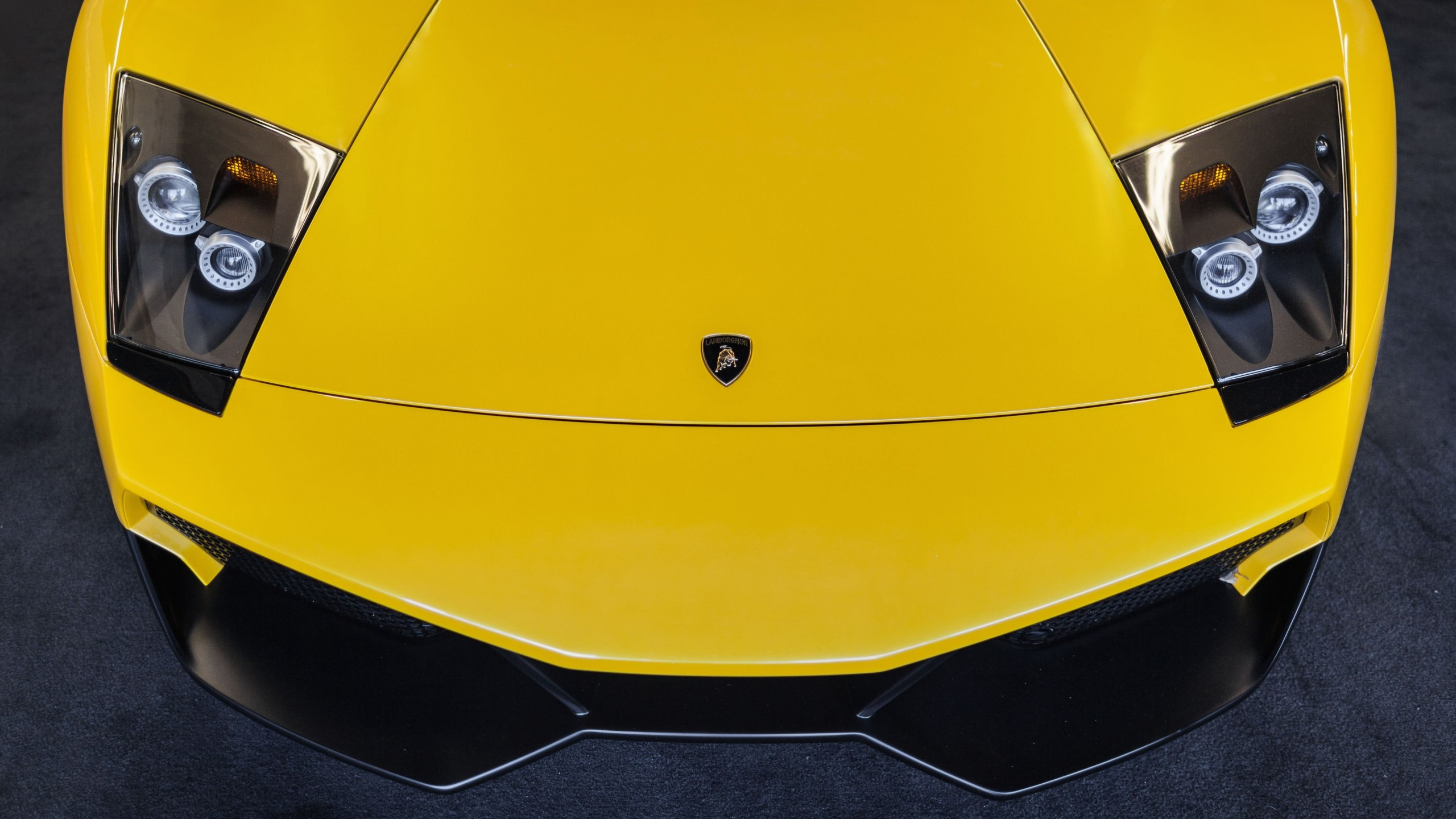Lamborghini Murcielago LP670 Front Wallpaper for Social Media YouTube Channel Art