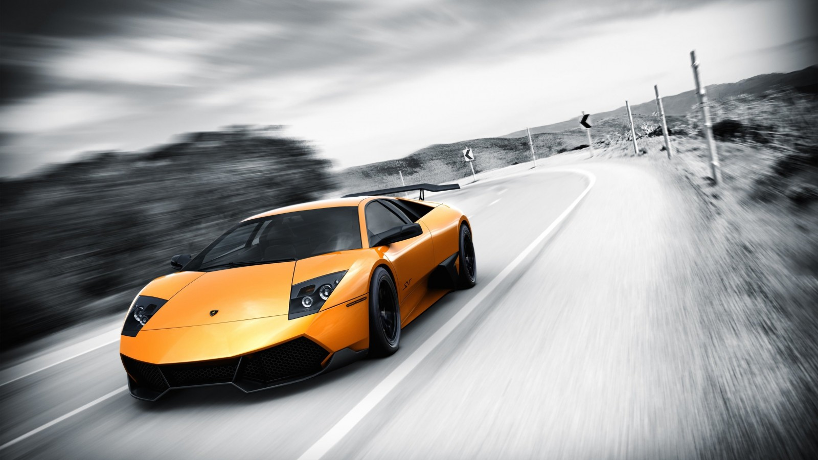 Lamborghini Murcielago LP670 Wallpaper for Desktop 1600x900