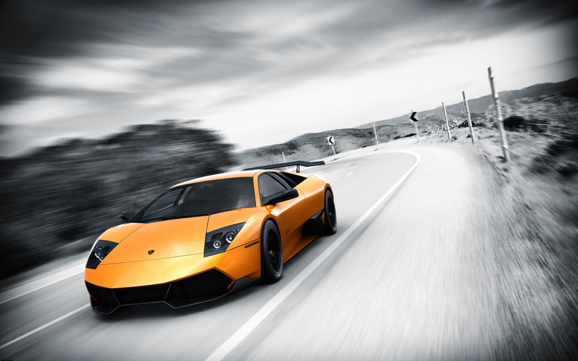 Lamborghini Murcielago LP670 Wallpaper for Desktop 1920x1200