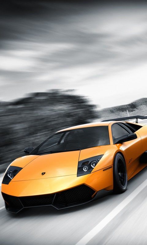 Lamborghini Murcielago LP670 Wallpaper for SAMSUNG Galaxy S3 Mini