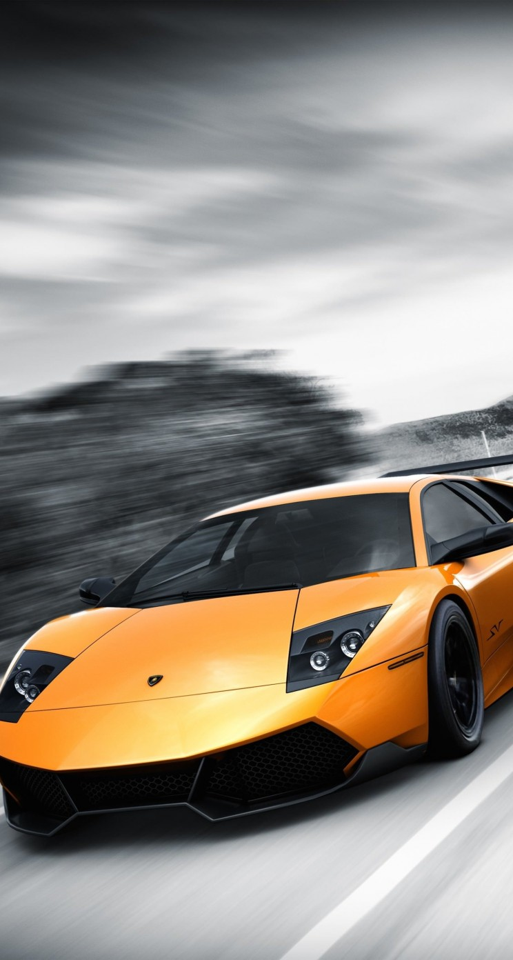 Lamborghini Murcielago LP670 Wallpaper for Apple iPhone 5 / 5s