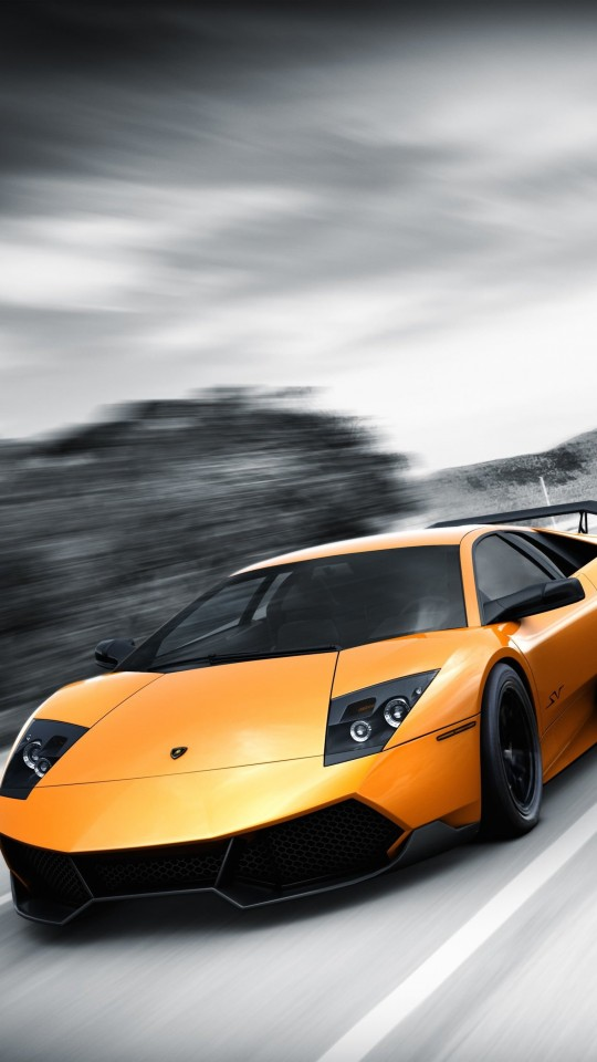 Lamborghini Murcielago LP670 Wallpaper for LG G2 mini