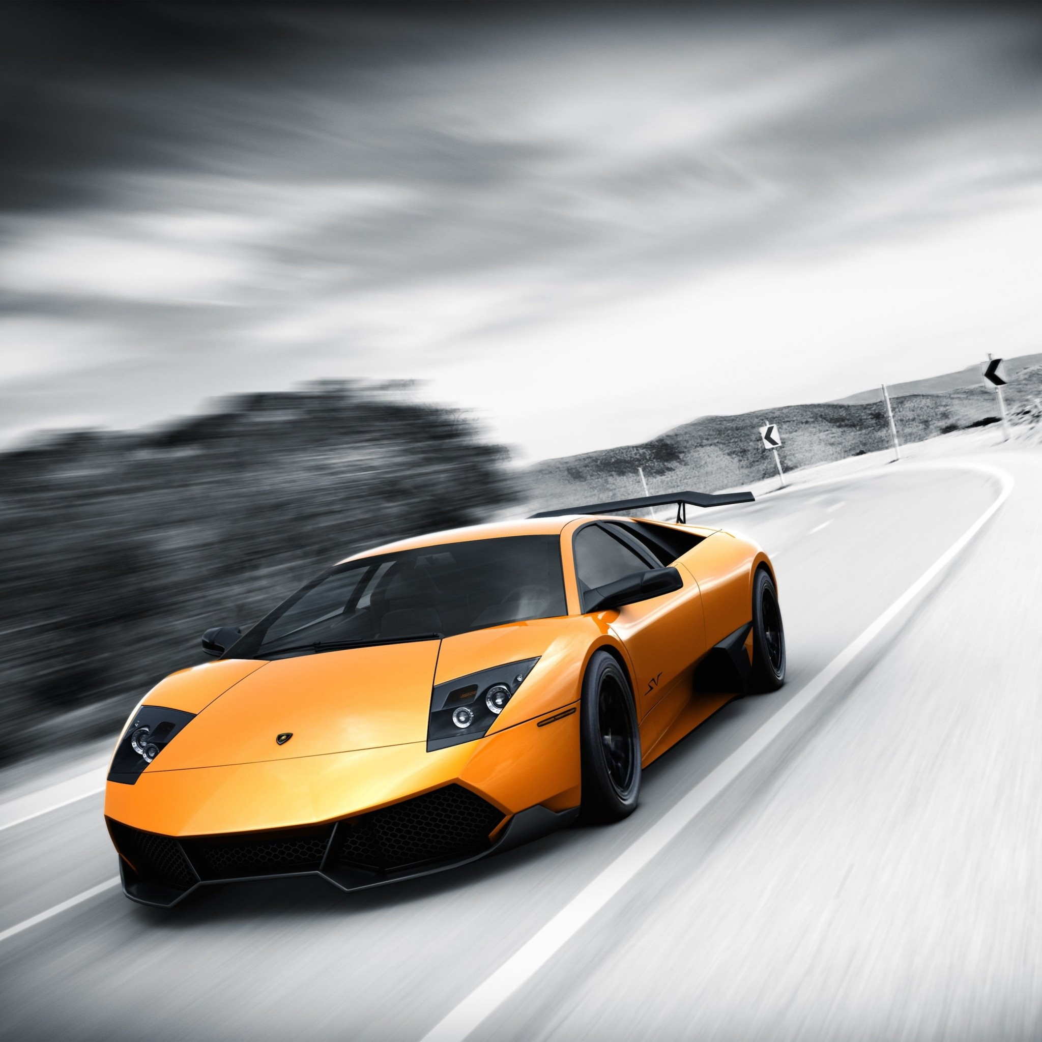 Lamborghini Murcielago LP670 Wallpaper for Google Nexus 9