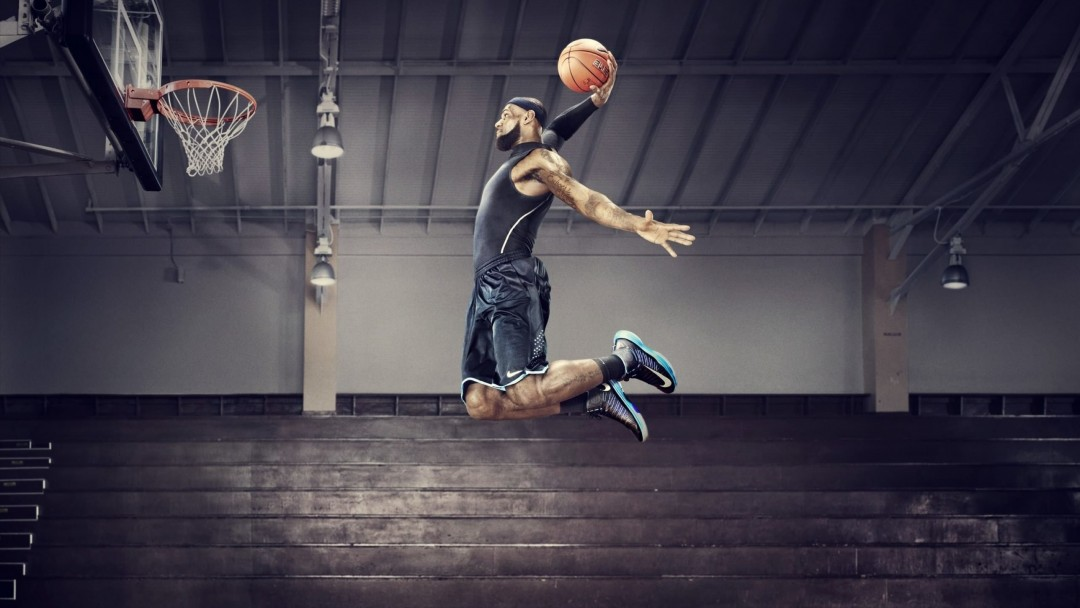 Lebron James Dunk Wallpaper for Social Media Google Plus Cover
