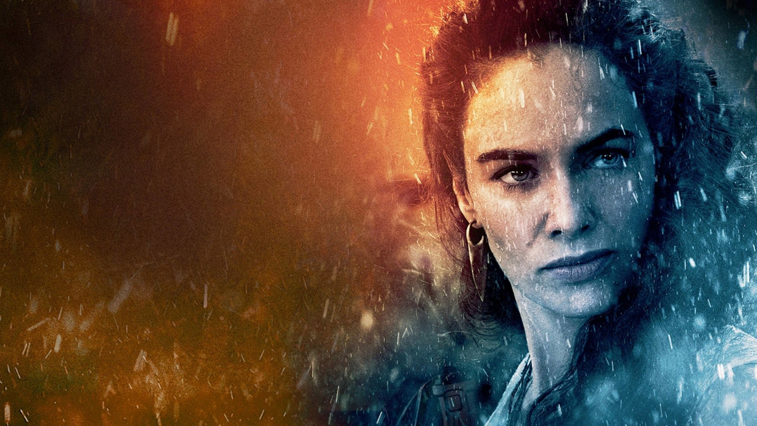 Lena Headey in 300 Rise Of An Empire Wallpaper for Social Media YouTube Channel Art