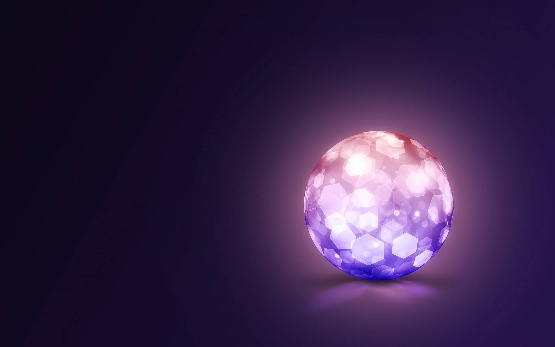 Lightning Ball Wallpaper for Desktop 1920x1200