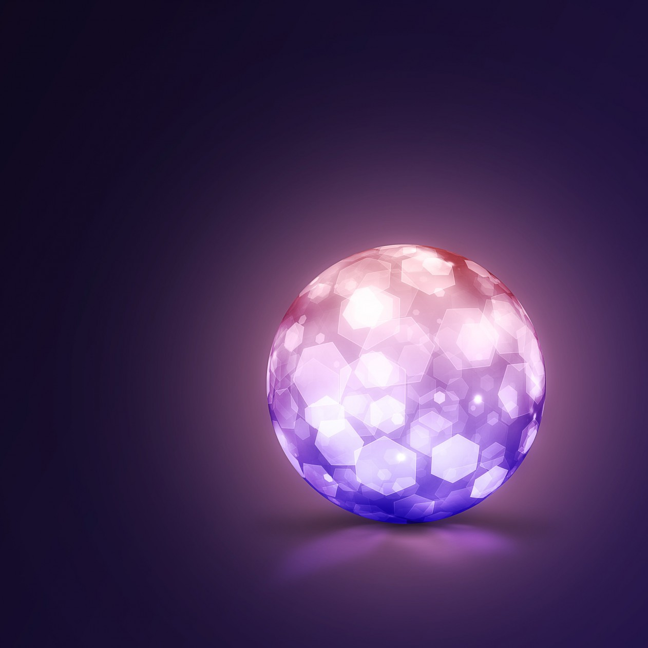Lightning Ball Wallpaper for Apple iPad mini