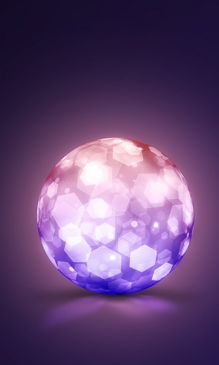Lightning Ball Wallpaper for Google Nexus 4