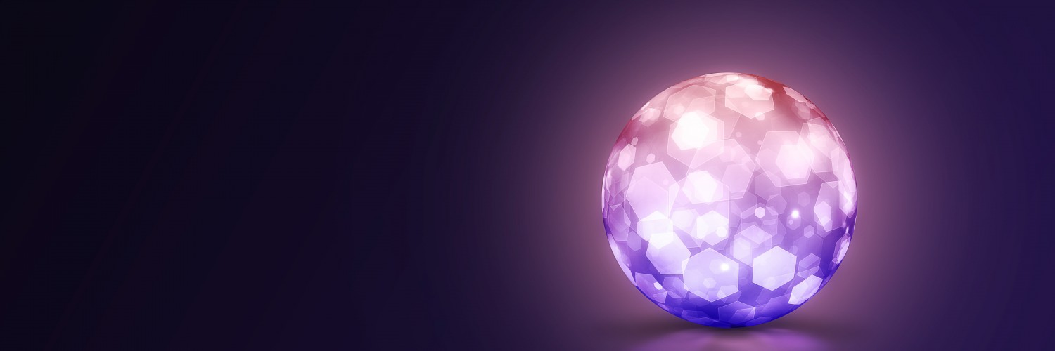 Lightning Ball Wallpaper for Social Media Twitter Header