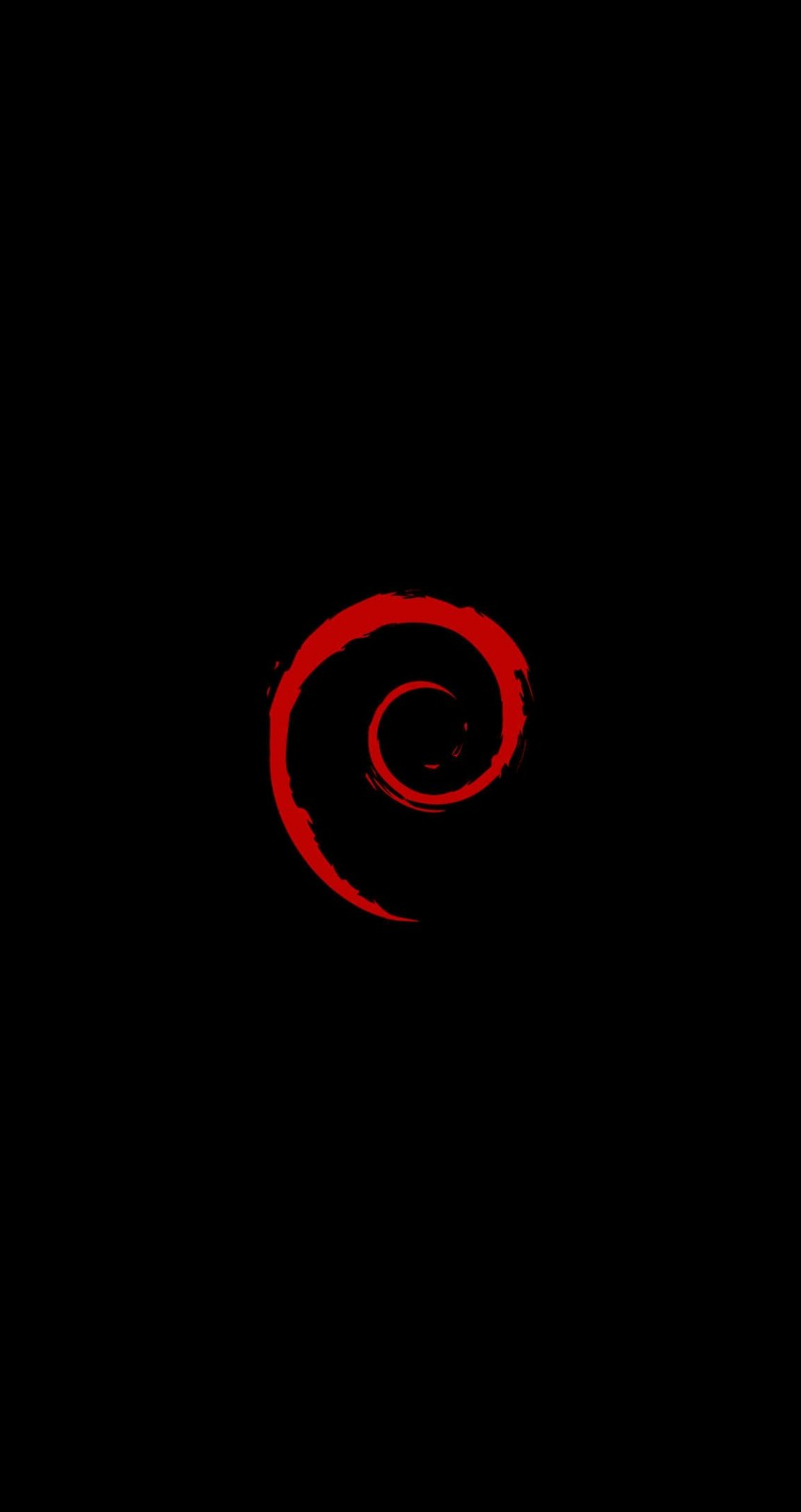 Linux Debian Wallpaper for Apple iPhone 6 / 6s