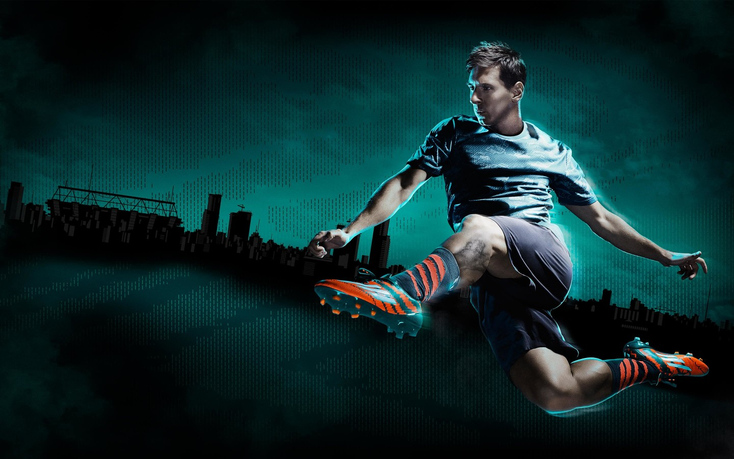 Lionel Messi Adidas Commercial Wallpaper for Desktop 1440x900