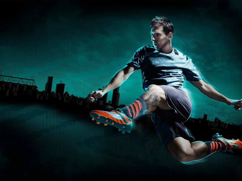 Lionel Messi Adidas Commercial Wallpaper for Desktop 800x600