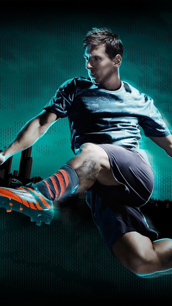 Lionel Messi Adidas Commercial Wallpaper for SAMSUNG Galaxy S3