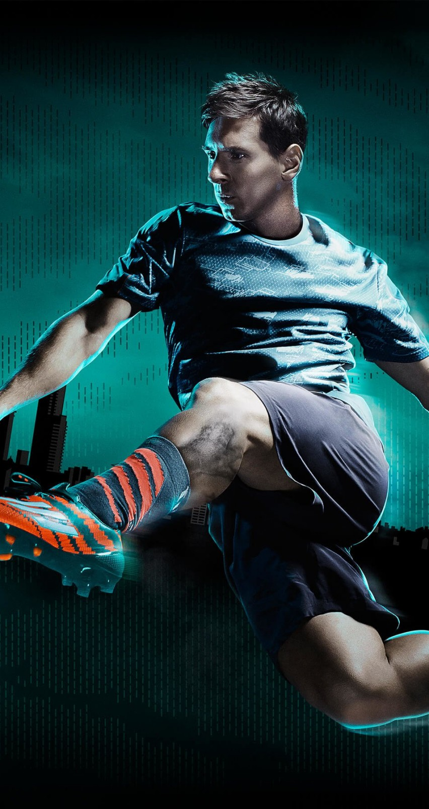 Lionel Messi Adidas Commercial Wallpaper for Apple iPhone 6 / 6s