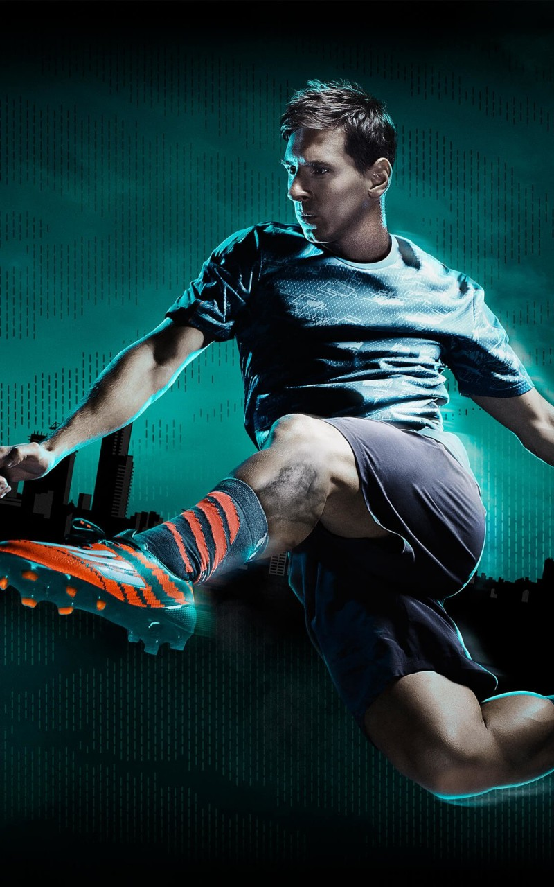 Lionel Messi Adidas Commercial Wallpaper for Amazon Kindle Fire HD
