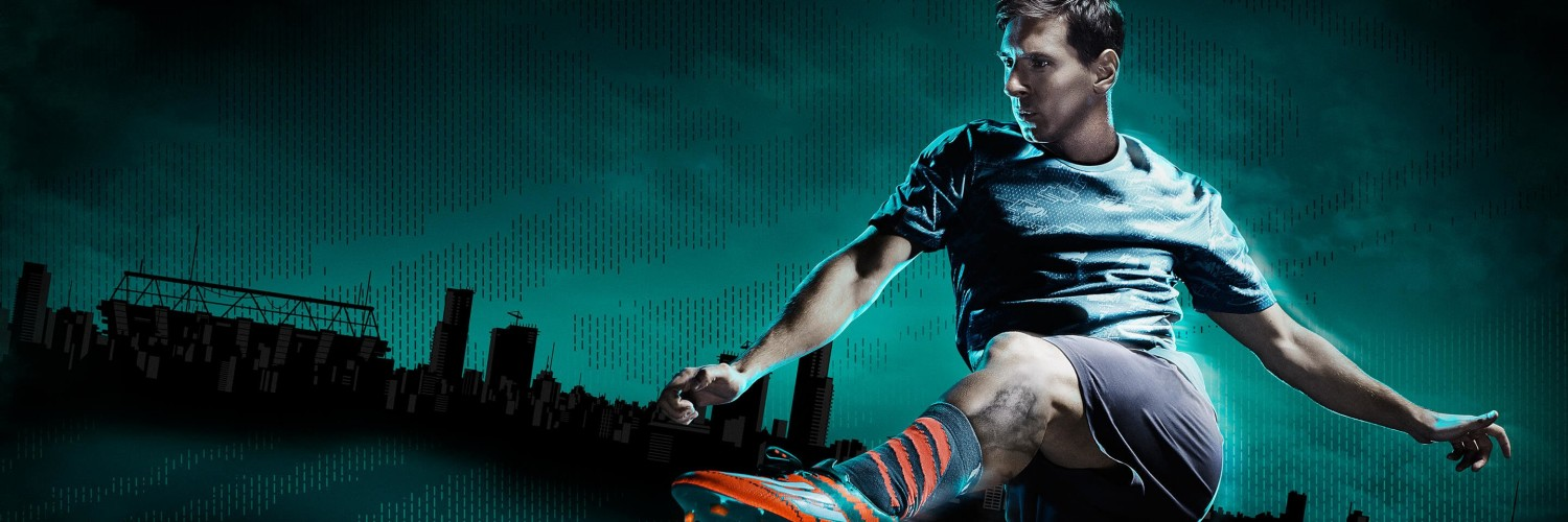 Lionel Messi Adidas Commercial Wallpaper for Social Media Twitter Header