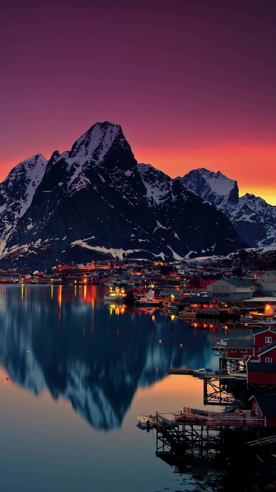 Lofoten Islands, Norway Wallpaper for SAMSUNG Galaxy Note 3