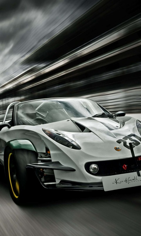 Lotus 340R Wallpaper for HTC Desire HD