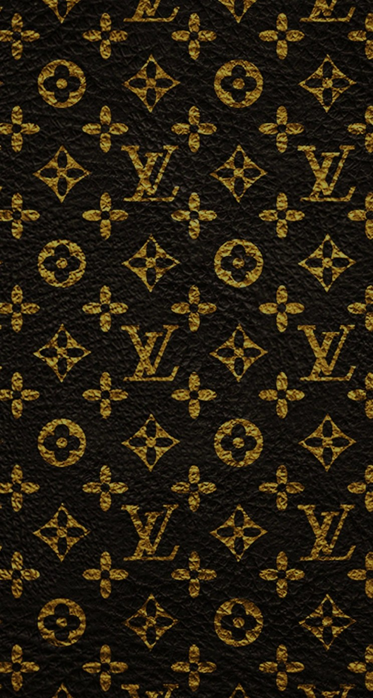 Louis Vuitton Pattern Wallpaper for Apple iPhone 5 / 5s