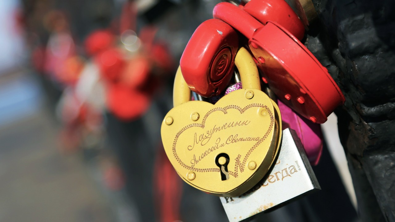 Love Lock Wallpaper for Desktop 1280x720