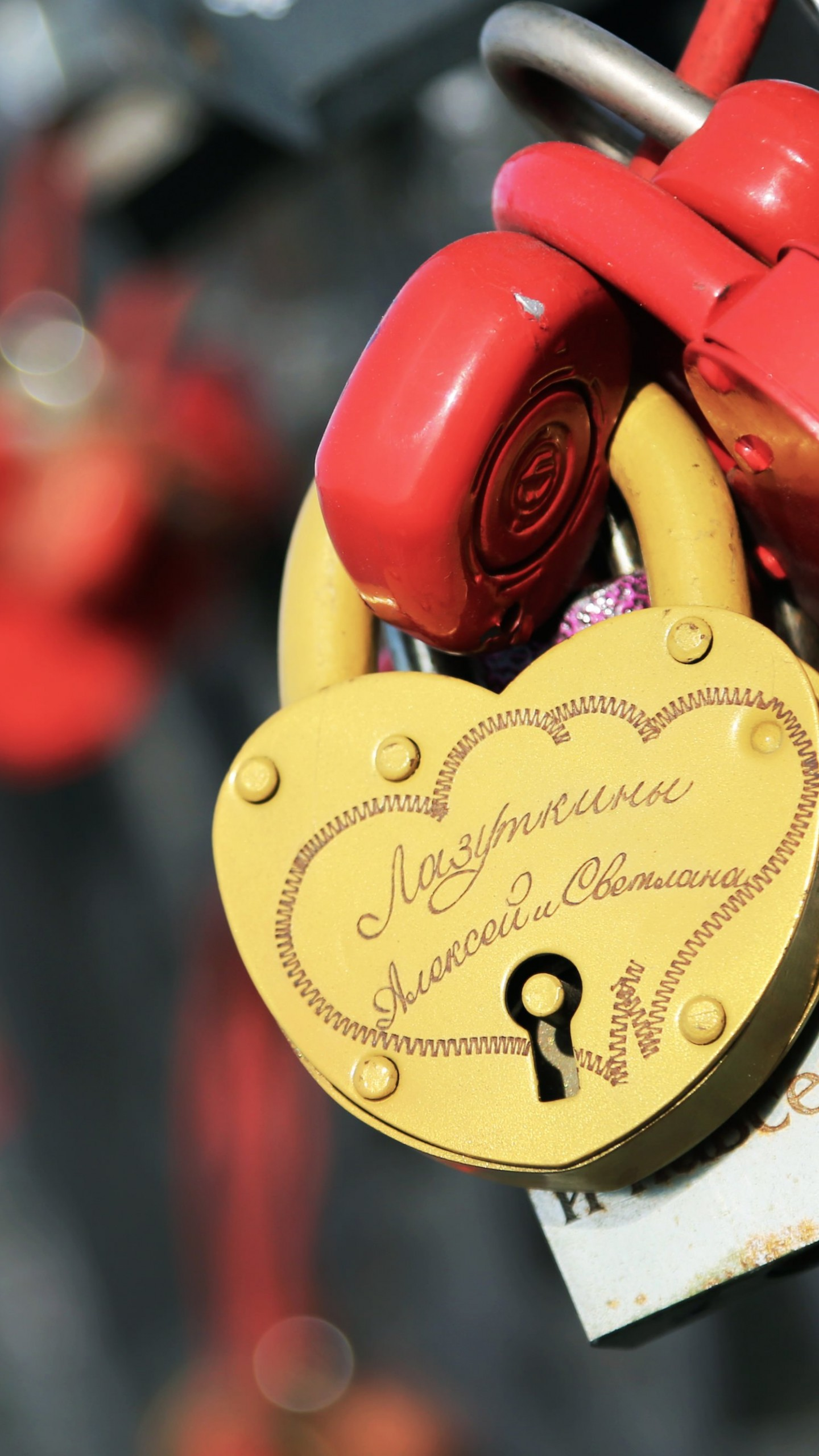 Love Lock Wallpaper for SAMSUNG Galaxy Note 4