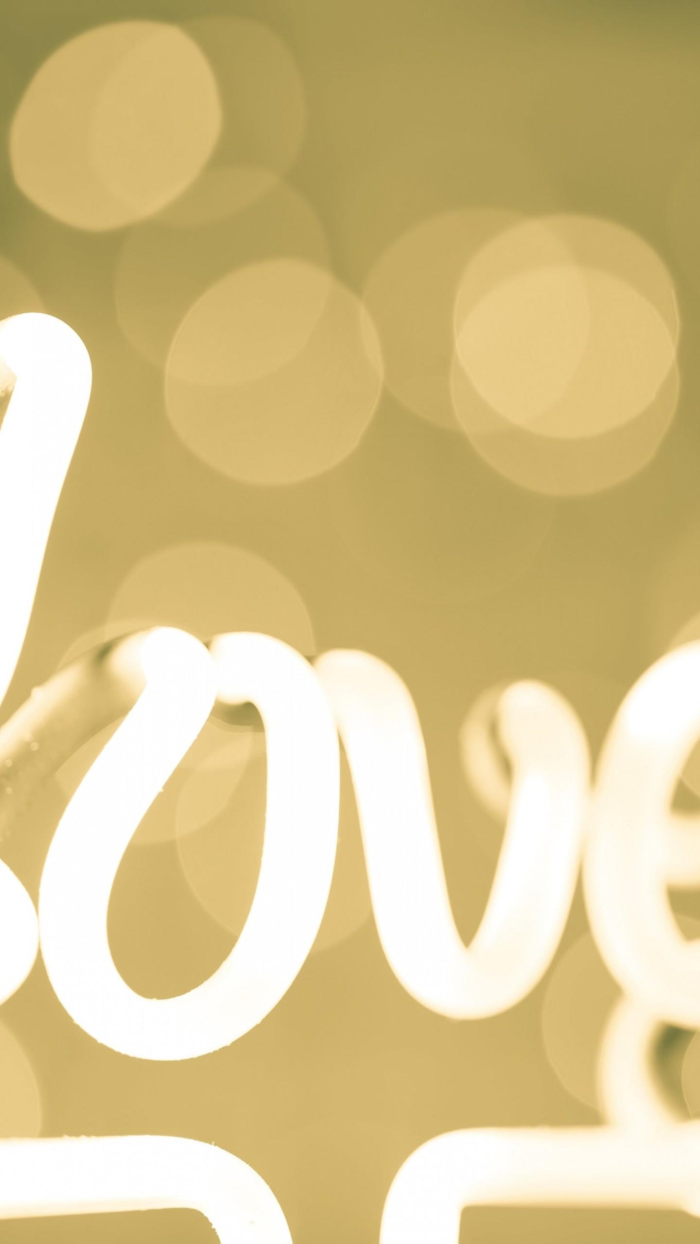 Hd wallpaper download love - Love Neon Light Typography Hd Wallpaper For Nexus 6