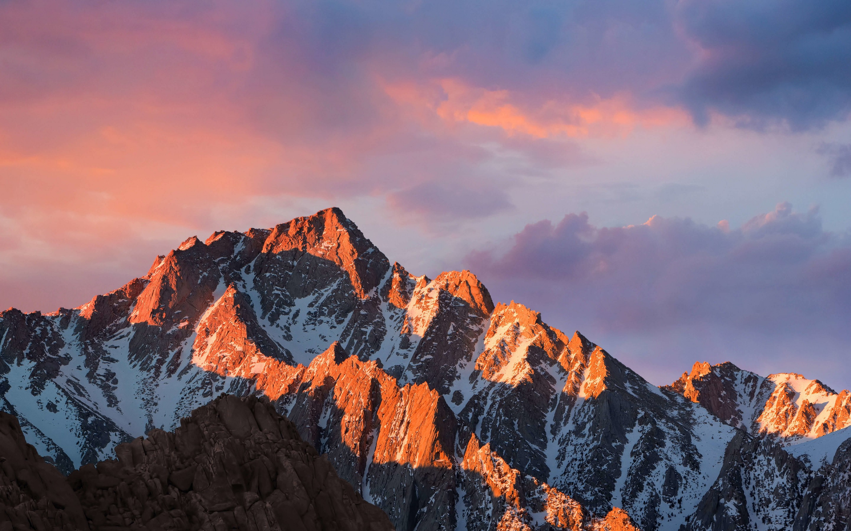 macOS Sierra Wallpaper for Desktop 2880x1800