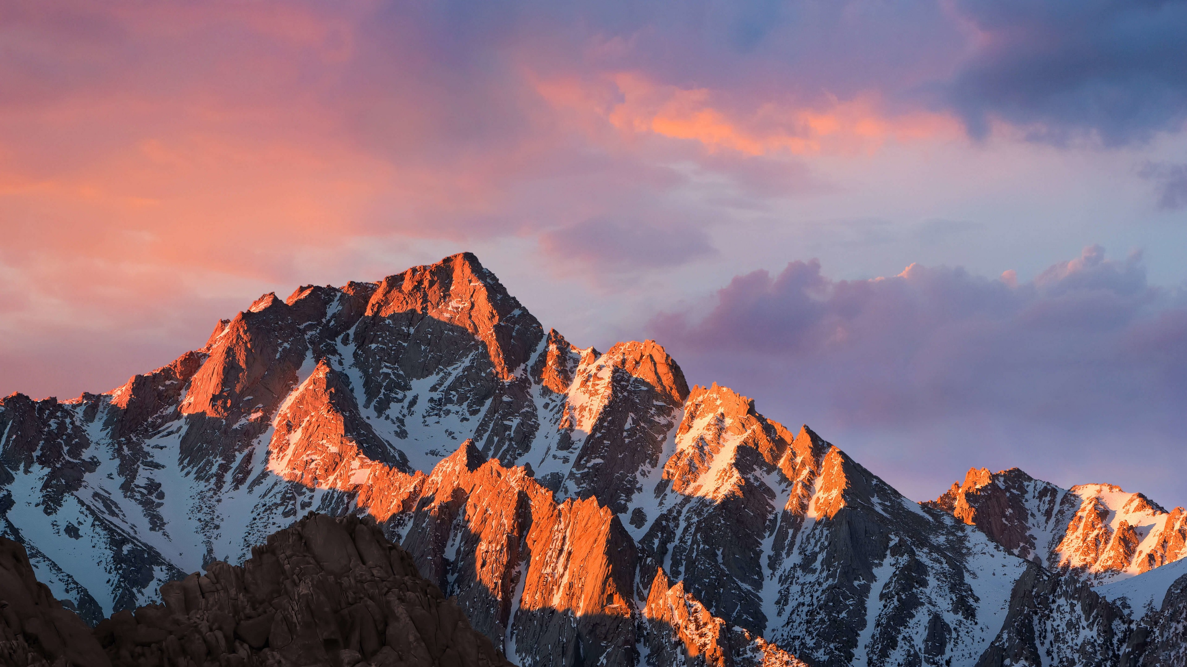 macOS Sierra Wallpaper for Desktop 4K 3840x2160