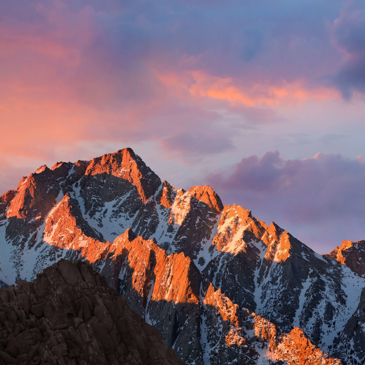 macOS Sierra Wallpaper for Apple iPad mini