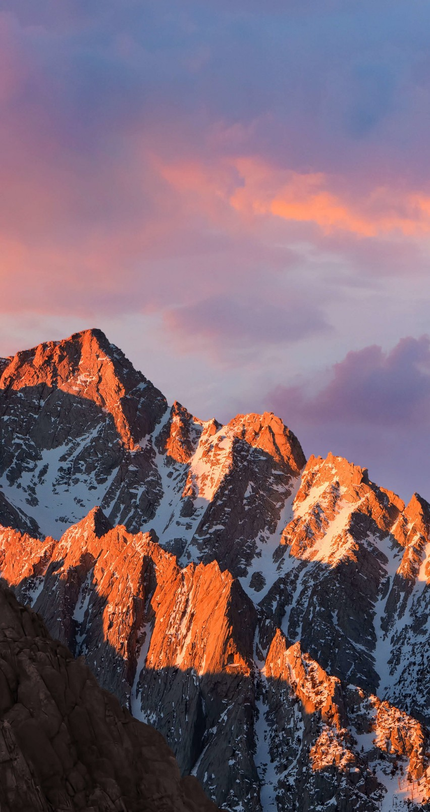 macOS Sierra Wallpaper for Apple iPhone 6 / 6s