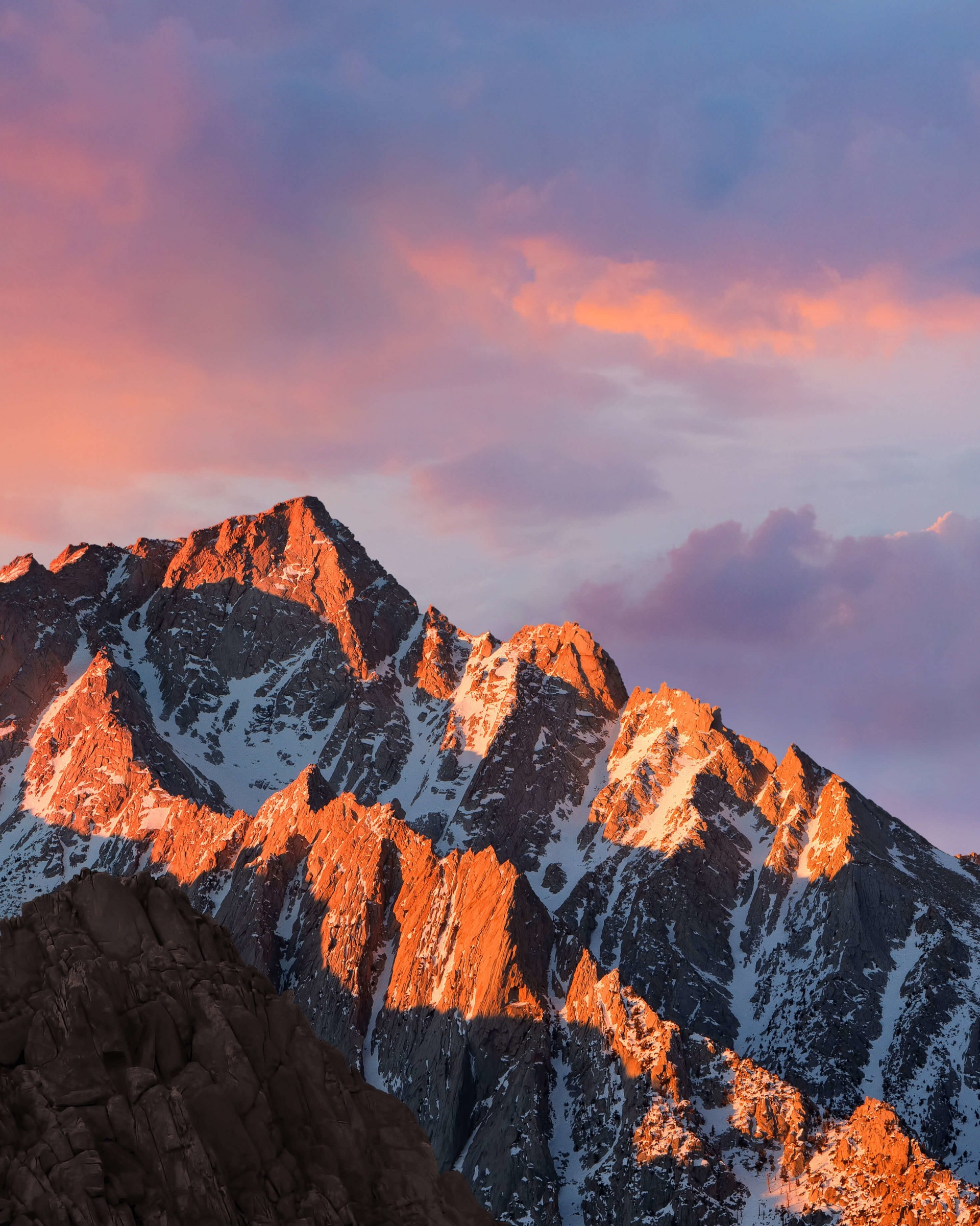 macOS Sierra Wallpaper for Google Nexus 7