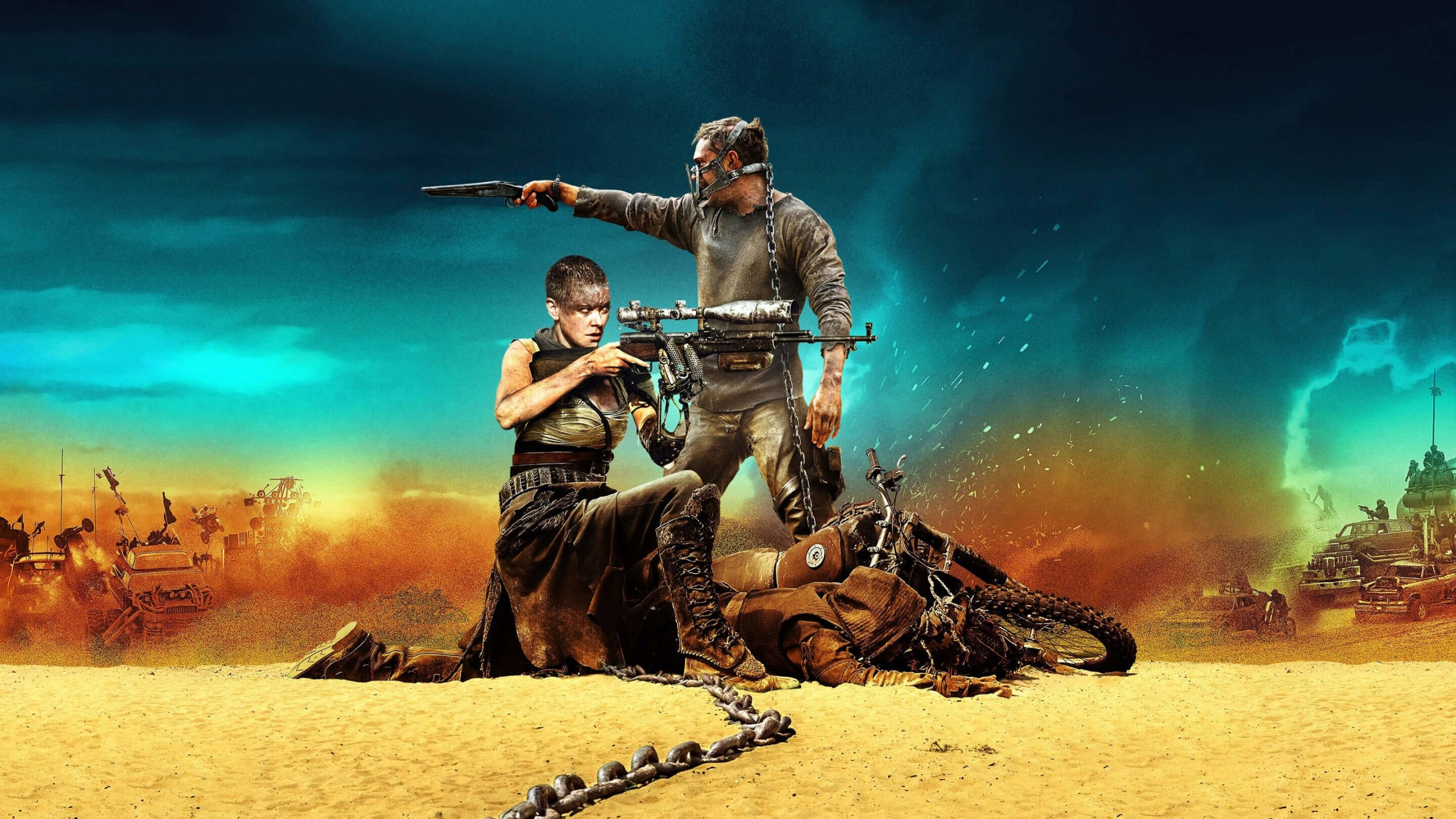 Mad Max: Fury Road Movie (2015) Wallpaper for Desktop 2560x1440