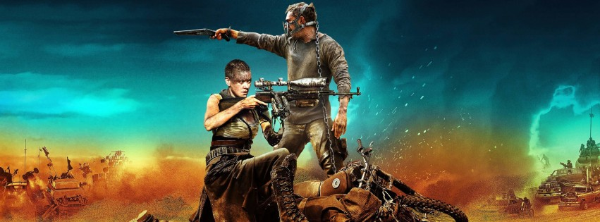 Mad Max: Fury Road Movie (2015) Wallpaper for Social Media Facebook Cover
