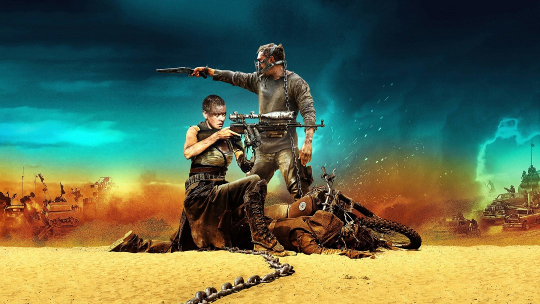 Mad Max: Fury Road Movie (2015) Wallpaper for Social Media Google Plus Cover