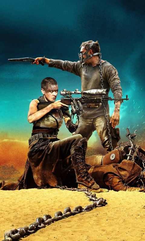 Mad Max: Fury Road Movie (2015) Wallpaper for HTC Desire HD