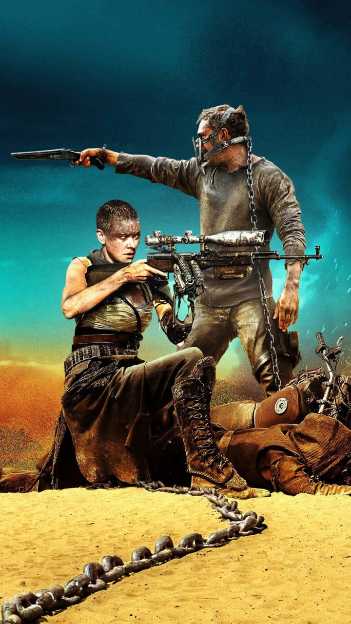 Mad Max: Fury Road Movie (2015) Wallpaper for HTC One X