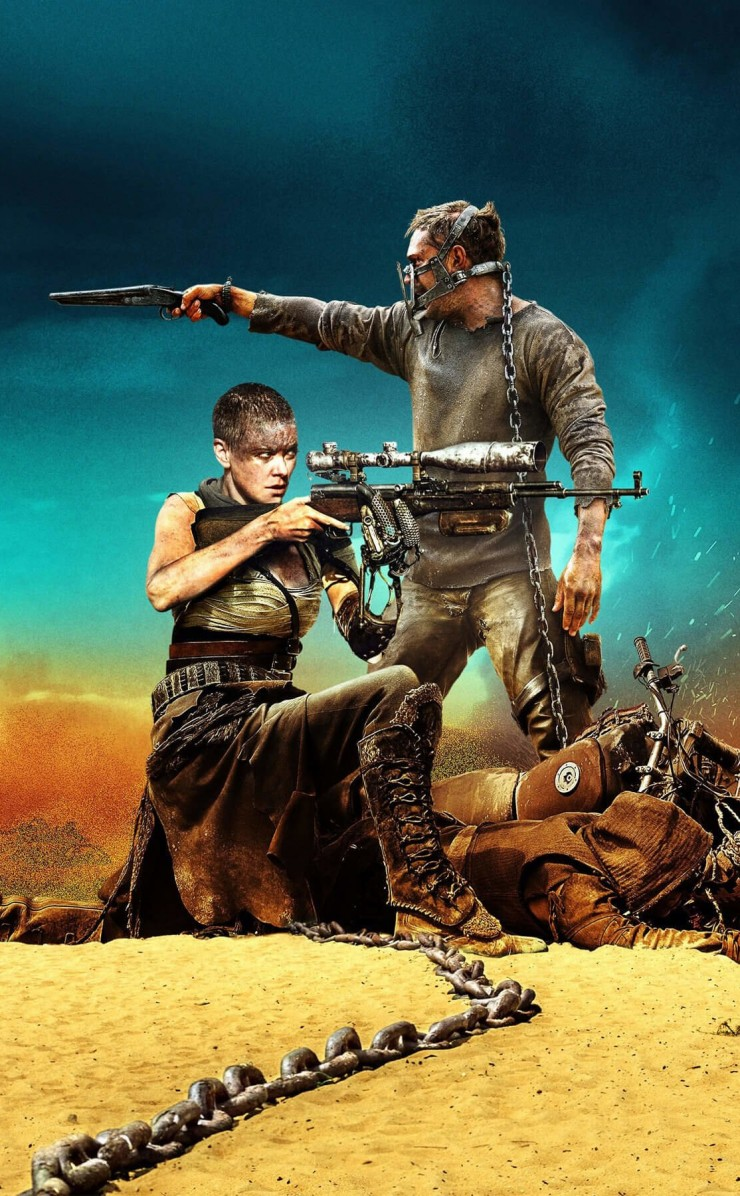 Mad Max: Fury Road Movie (2015) Wallpaper for Apple iPhone 4 / 4s