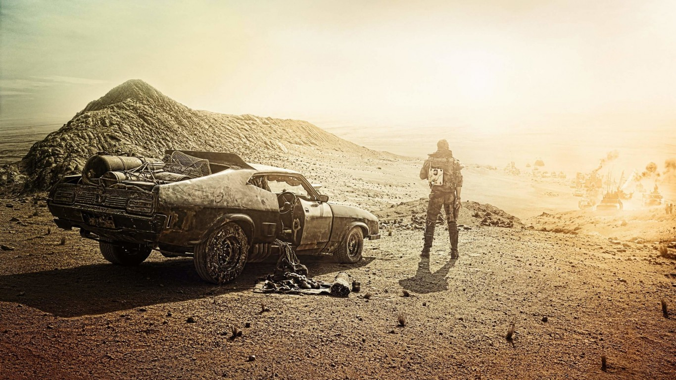 Mad Max Fury Road Movie Wallpaper for Desktop 1366x768