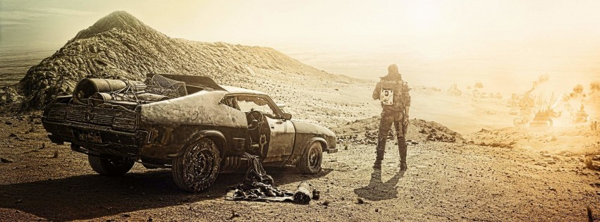Mad Max Fury Road Movie Wallpaper for Social Media Facebook Cover
