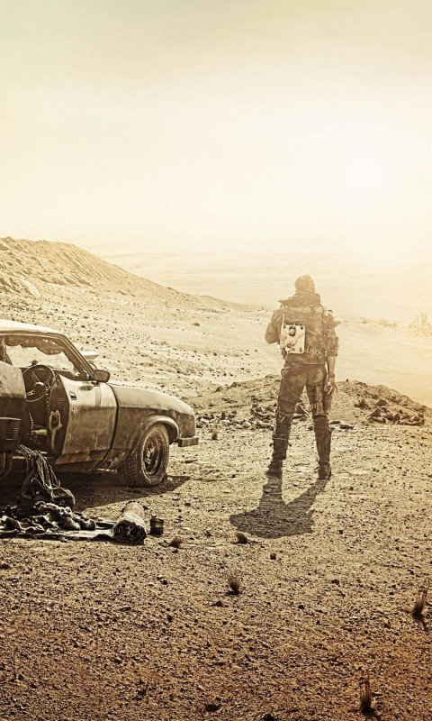 Mad Max Fury Road Movie Wallpaper for HTC Desire HD