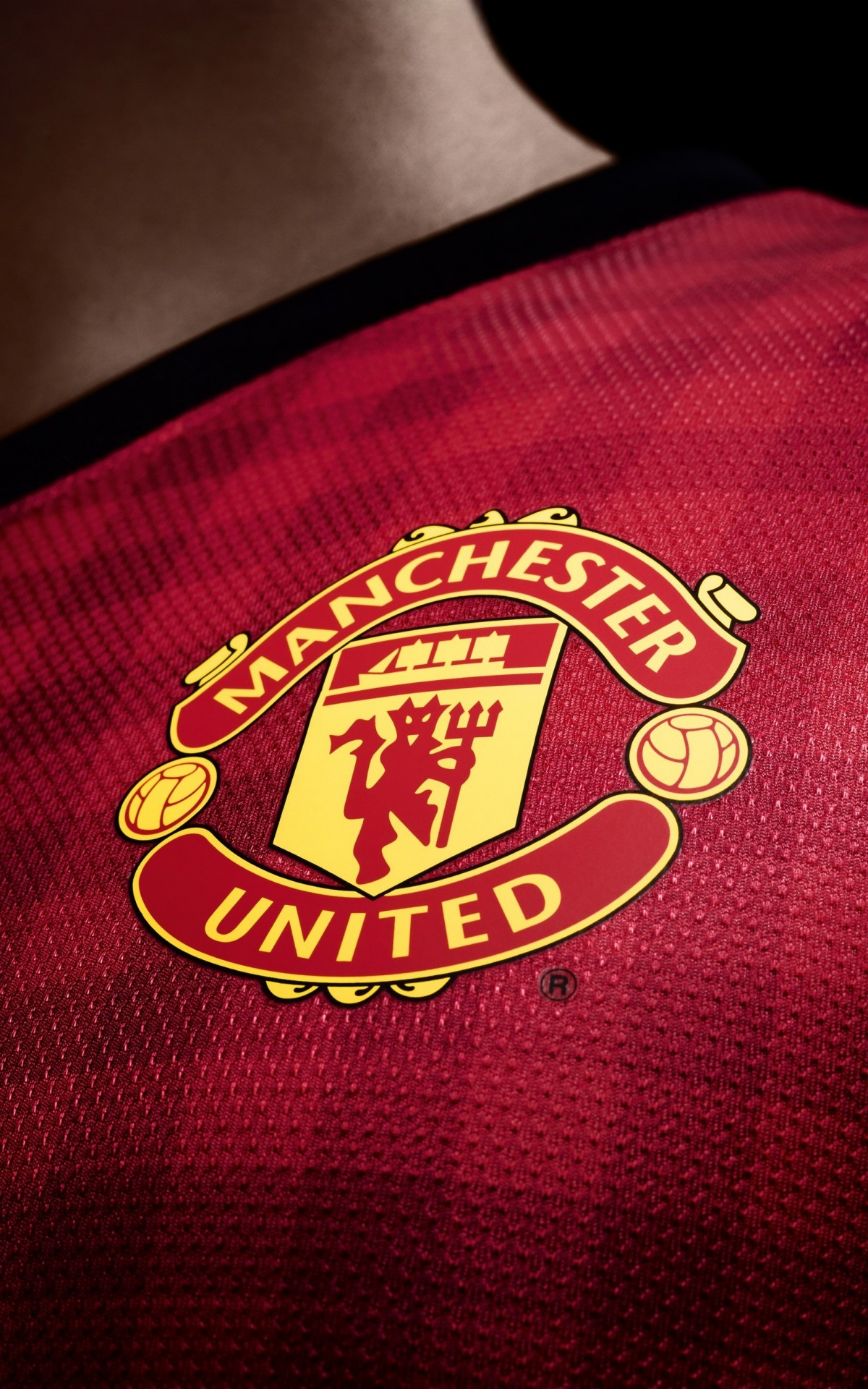 Manchester United Logo Shirt Wallpaper for Amazon Kindle Fire HDX