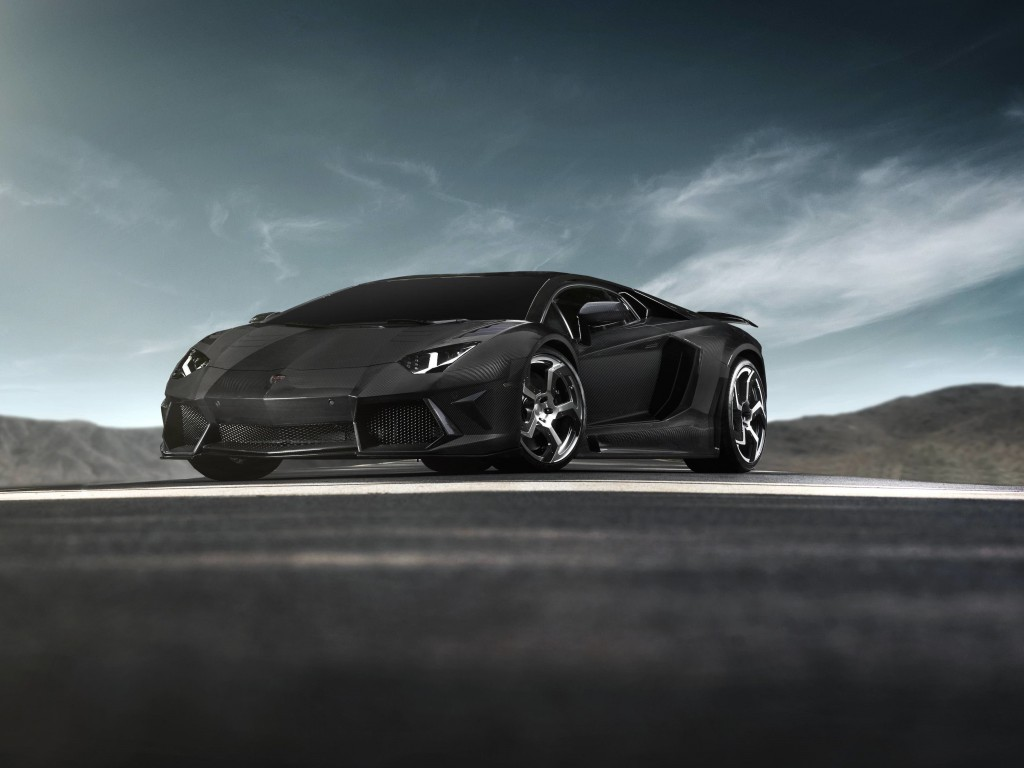 Mansory Carbonado Lamborghini Aventador LP700-4 Wallpaper for Desktop 1024x768