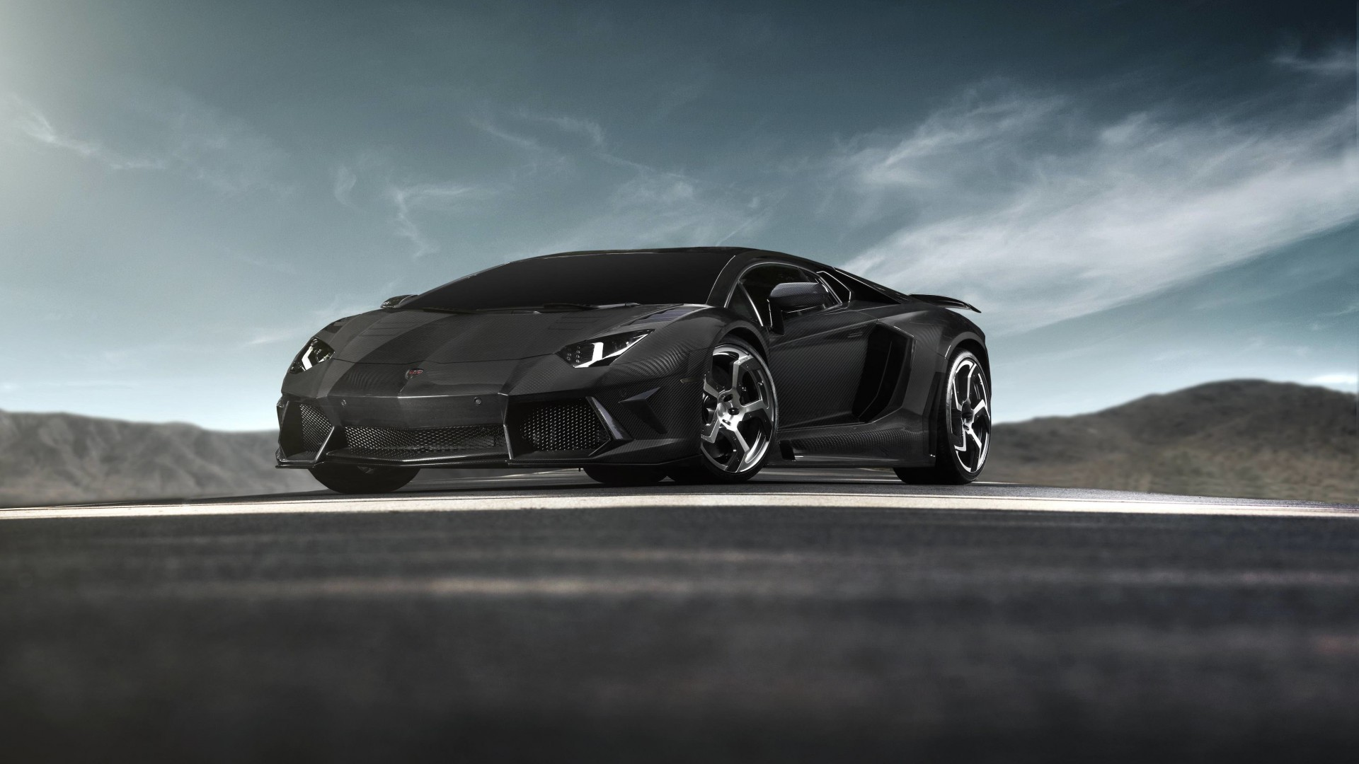 Mansory Carbonado Lamborghini Aventador LP700-4 Wallpaper for Desktop 1920x1080