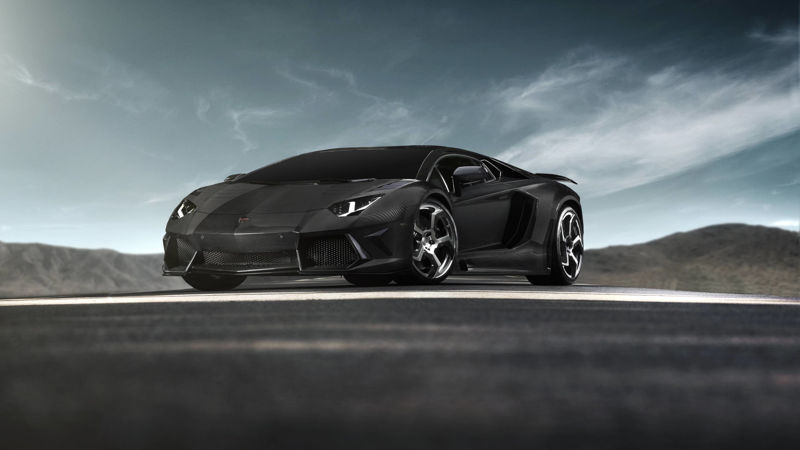 Mansory Carbonado Lamborghini Aventador LP700-4 Wallpaper for Desktop 2560x1440