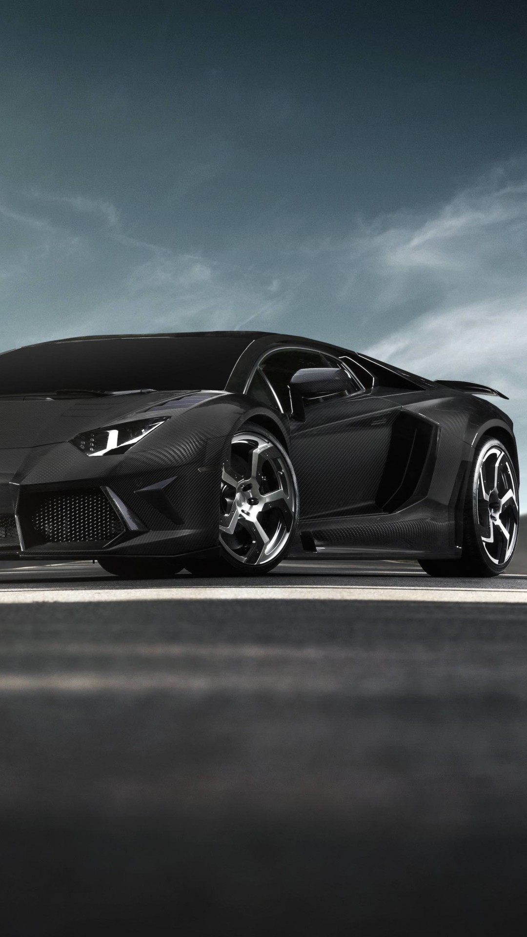 Mansory Carbonado Lamborghini Aventador LP700-4 Wallpaper for HTC One