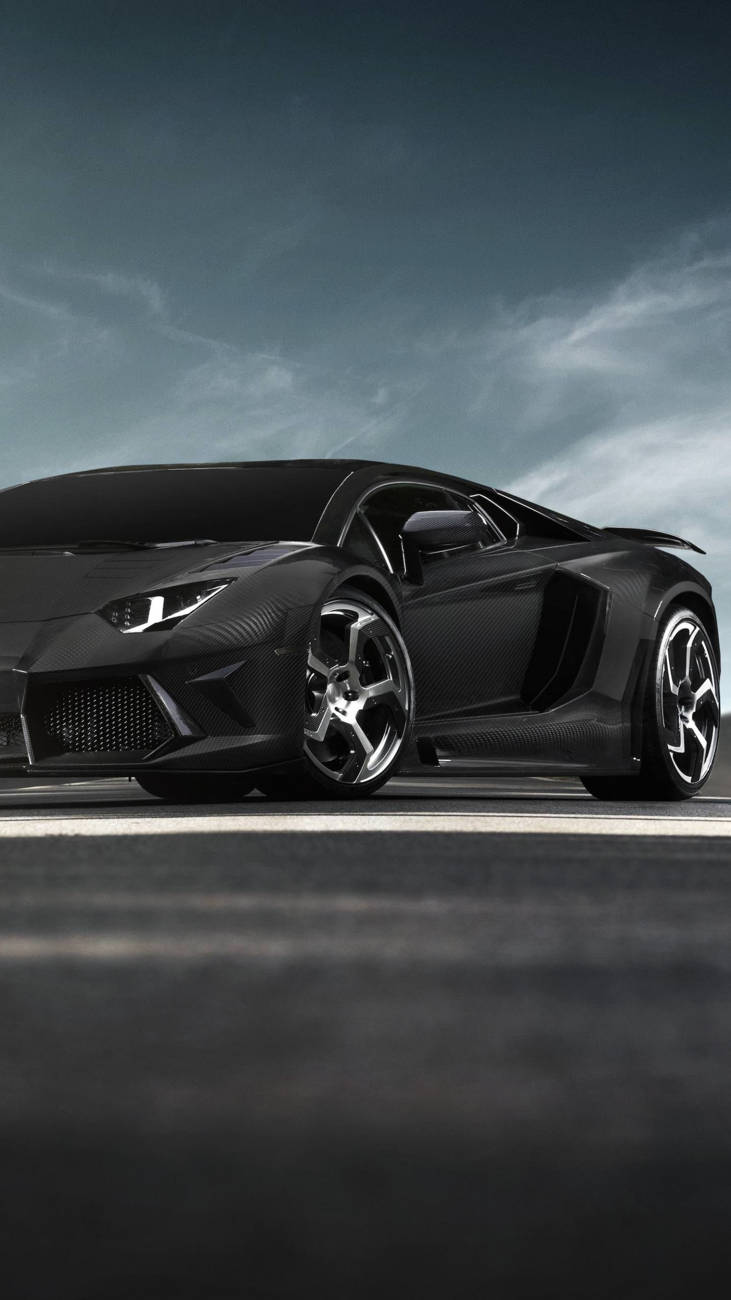 Mansory Carbonado Lamborghini Aventador LP700-4 Wallpaper for LG G3