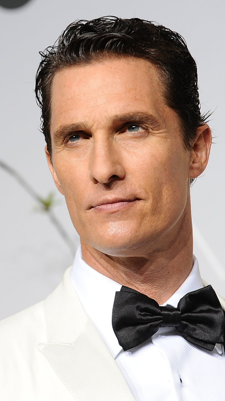 Matthew Mcconaughey in White Tuxedo Wallpaper for SAMSUNG Galaxy Note 2